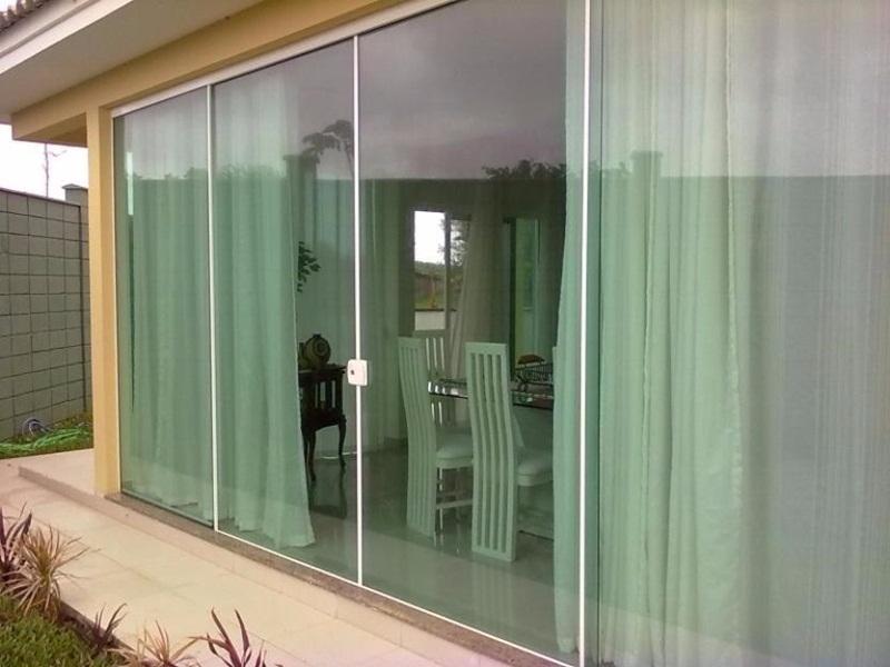 preço de porta de vidro